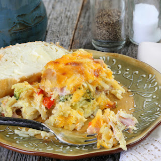 Everything But the Kitchen Sink Egg Casserole