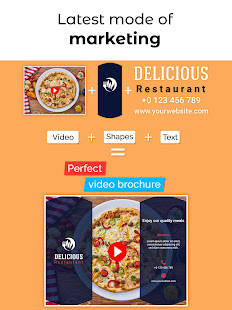 Video Brochure Maker - Video Marketing Templates
