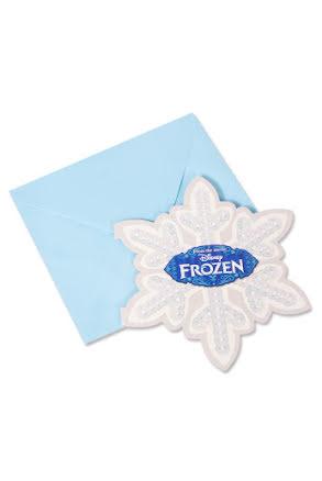 Frost, inbjudningskort
