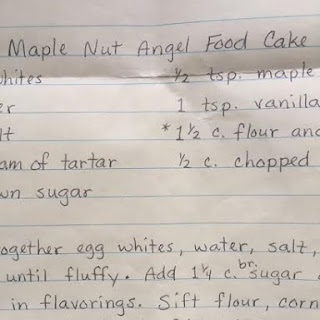Mrs. Stutzman's Easy Angel Food Cake