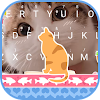 Cat Stare Theme&Emoji Keyboard
