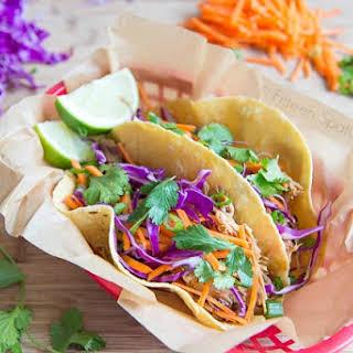 Asian Pork Tacos.