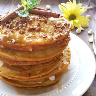 White Chip Pumpkin Pancakes