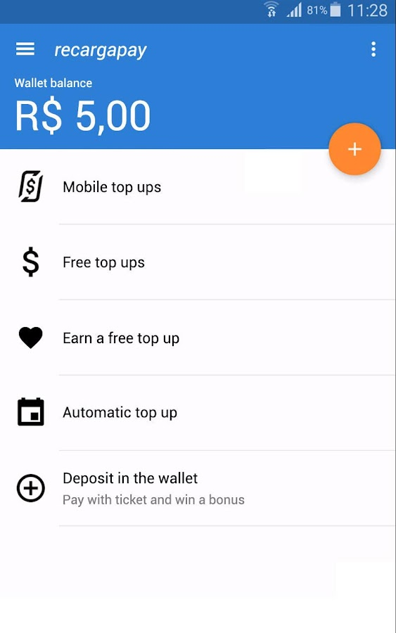 RecargaPay: Top up your mobile- screenshot