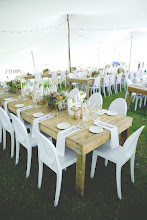 Photo: Hired in table & chairs for this wedding