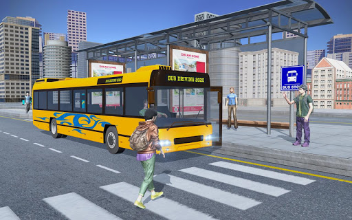 City Coach Bus Simulator - Modern Bus Driving Game 1.0 screenshots 1