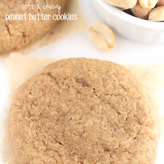 The Ultimate Healthy Soft & Chewy Peanut Butter Cookies.