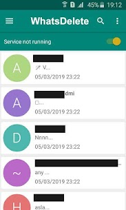 WhatsDelete: View Deleted Messages 1