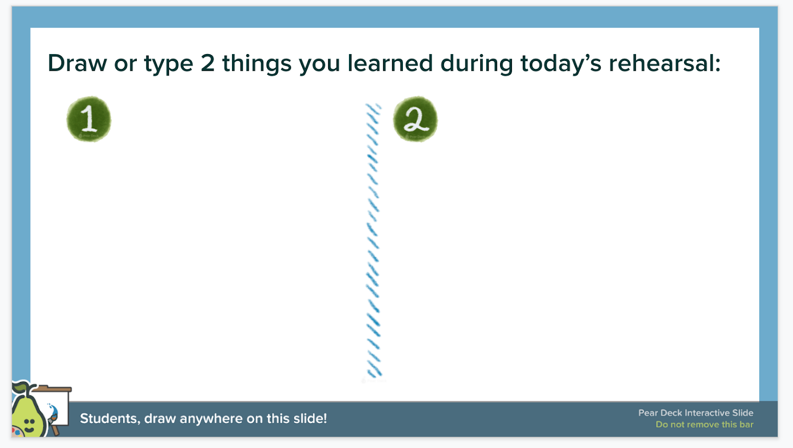 Student engagement using Pear Deck