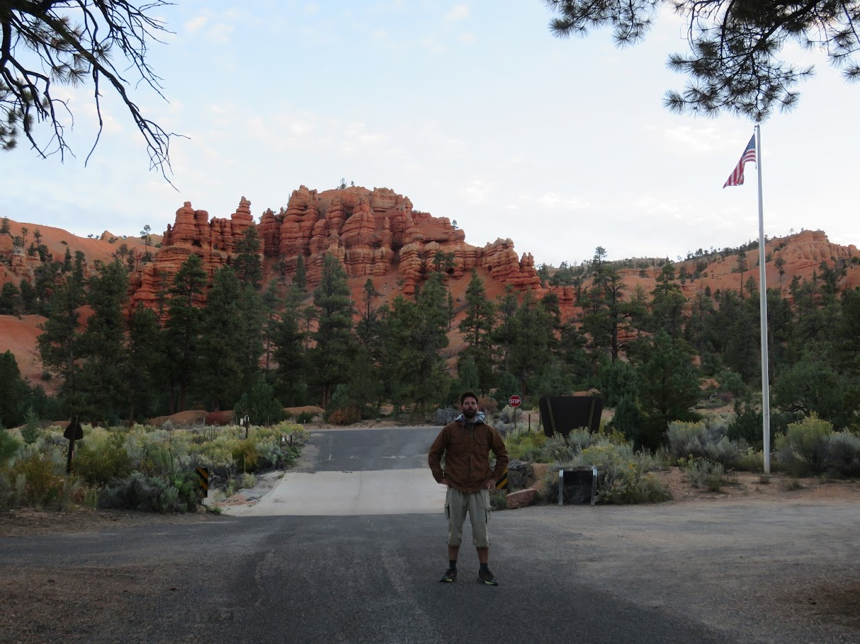 Red Canyon Campground Bryce Canyon kamperen camping