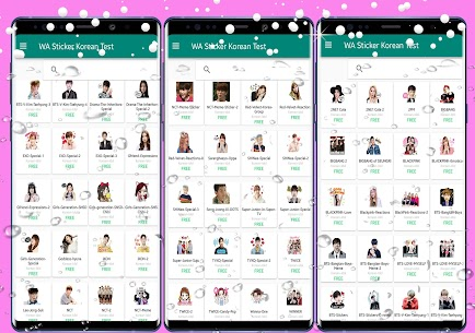 WAStickerApps Korean Idol Sticker for WhatsApp Download For Android 1
