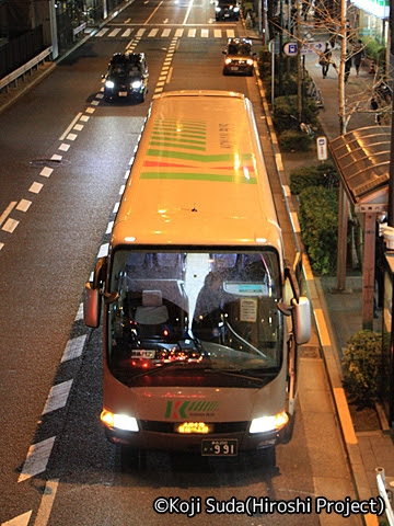 弘南バス「スカイ号」 ・991 上野駅前到着_02
