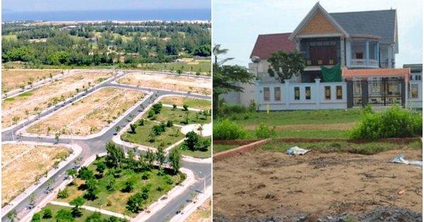 Phân biệt đất nền dự án và đất thổ cư