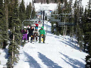Photo: Opening weekend had skiers and boarders pretty excited.