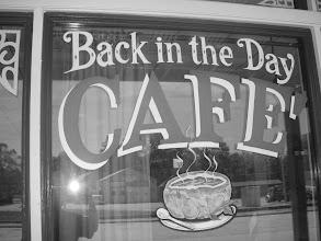 Photo: Our breakfast spot