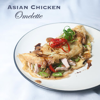 Asian Chicken Omelette.