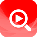 Video Search for YouTube: Free Music & Videos ☕🎬 icon