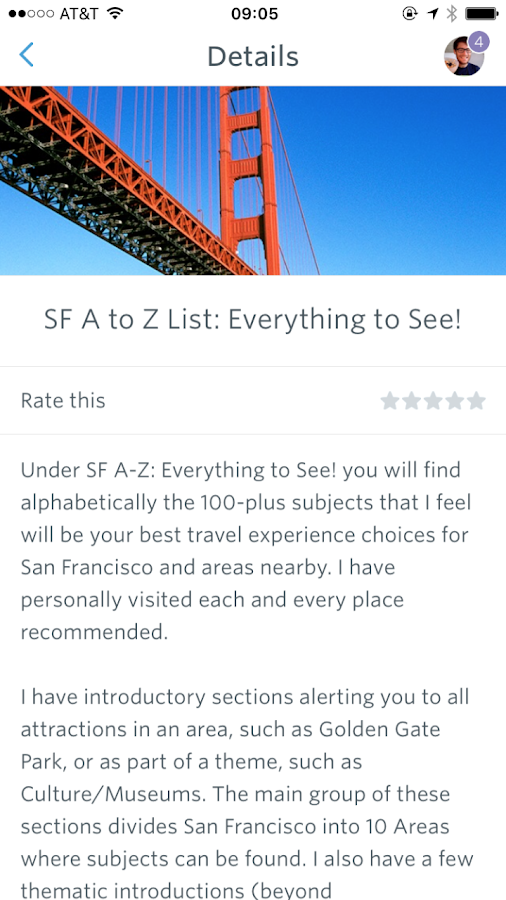 SF Travel & Photo Guide- screenshot