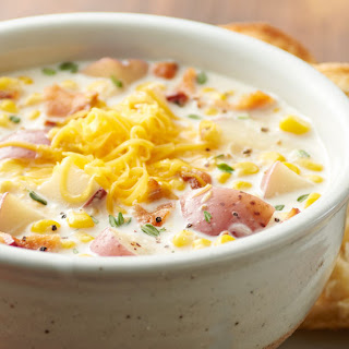 Slow-Cooker Bacon Corn Chowder.