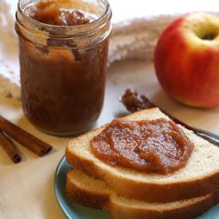Homemade Apple Butter (No Sugar Added).