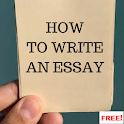 How to Write an Essay icon