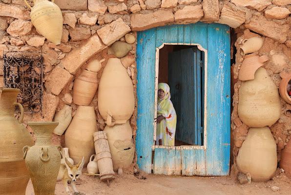 La porta del vasaio di Pensatore