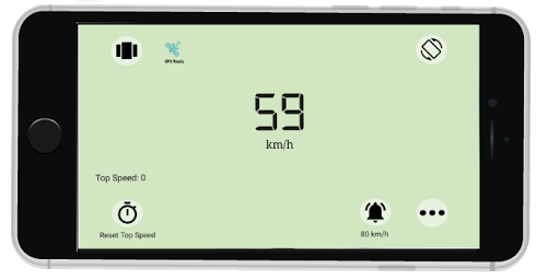Accurate Speedometer app -Digi GPS HUD Speedometer 7.4 screenshots 3