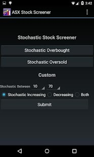 ASX Stock Screener- screenshot thumbnail