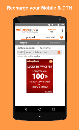 DTH & Mobile Recharge, Bill Payments, Cashback Apk Download Free for PC, smart TV