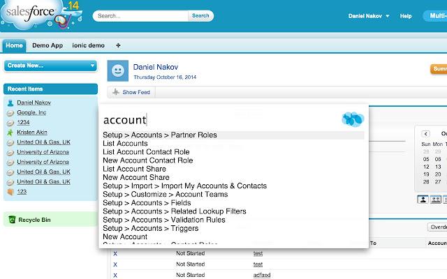 Salesforce Navigator