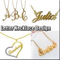 Letter Necklace Design icon