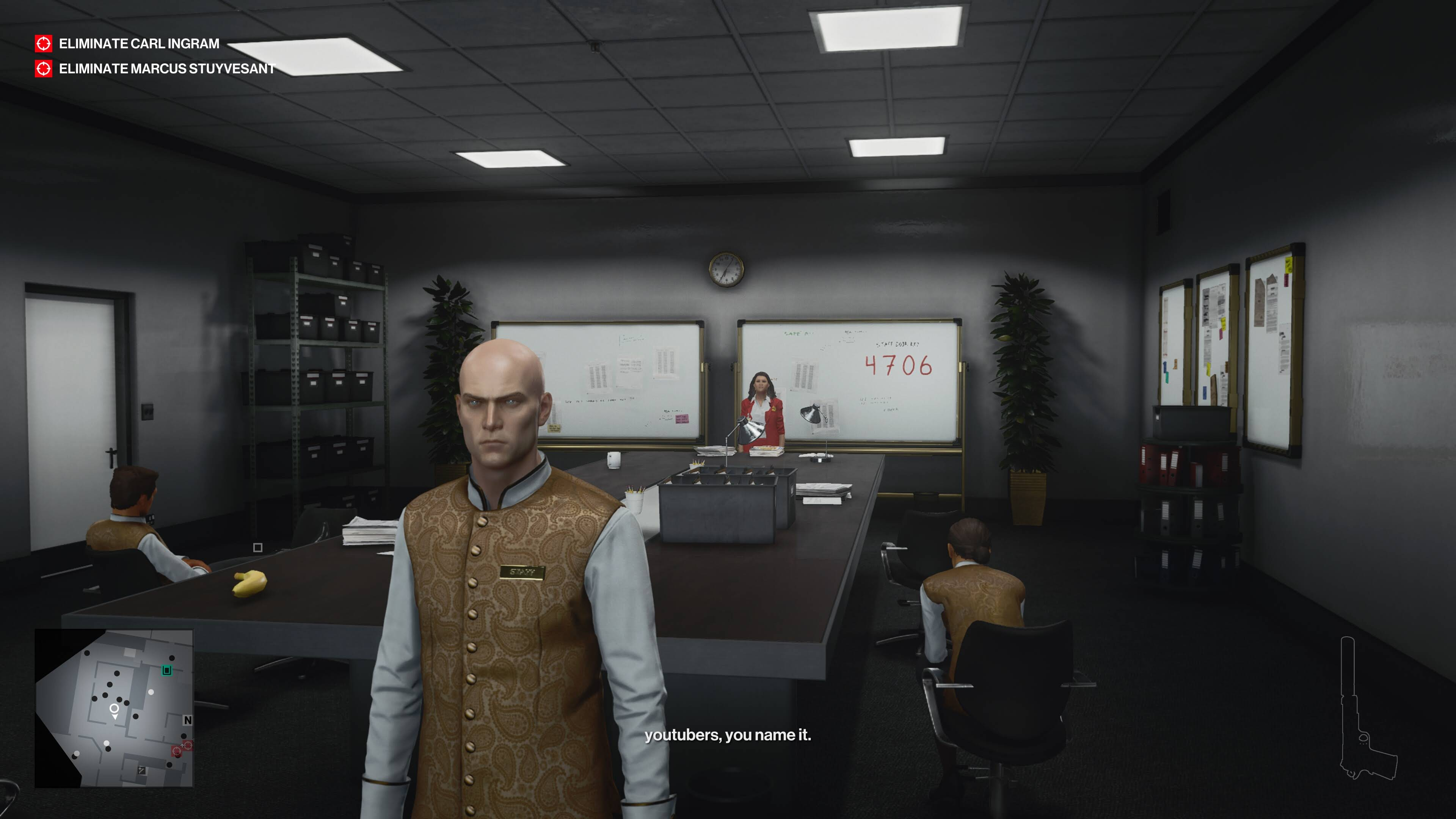 Stadia screenshot of HITMAN - World of Assassination