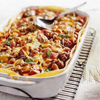 Layered Enchilada Casserole With Corn Tortillas Recipes.