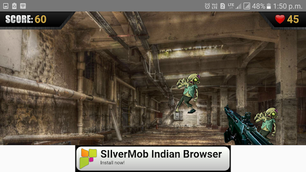 Zombie Gunship Free apk screenshot