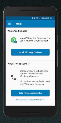 Wabi - Phone Number for WhatsApp Business 1.1.2 screenshots 4