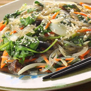 Anytime Noodles With Stir-Fried Vegetables.