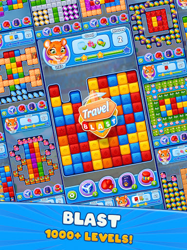 Travel Blast: Puzzle Adventure  screenshots 17