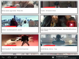 Screenshot of Top music videos videoclips