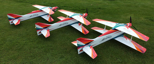 Photo: Chad, Michi and Dave's planes at the PITC event this summer.