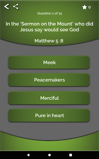 Bible Quiz 10 screenshots 17