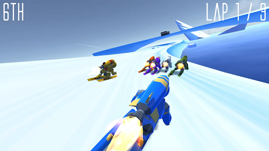 Rocket Ski Racing Screenshot 4