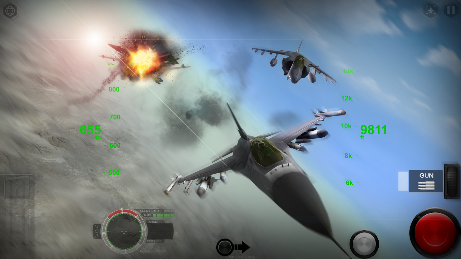 AirFighters- screenshot