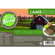 All Good Dog Food Lamb Meatloaf