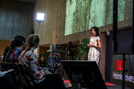 Kamilla Sultanova at TEDx Helsinki