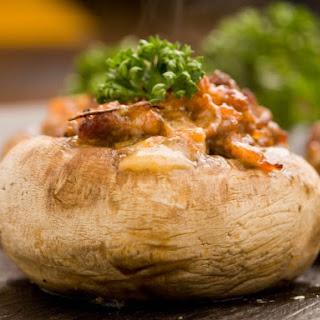 Carrabba's Italian Grill Stuffed Mushrooms.
