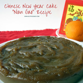 "Chinese New Year Cake ""Nian Gao"""