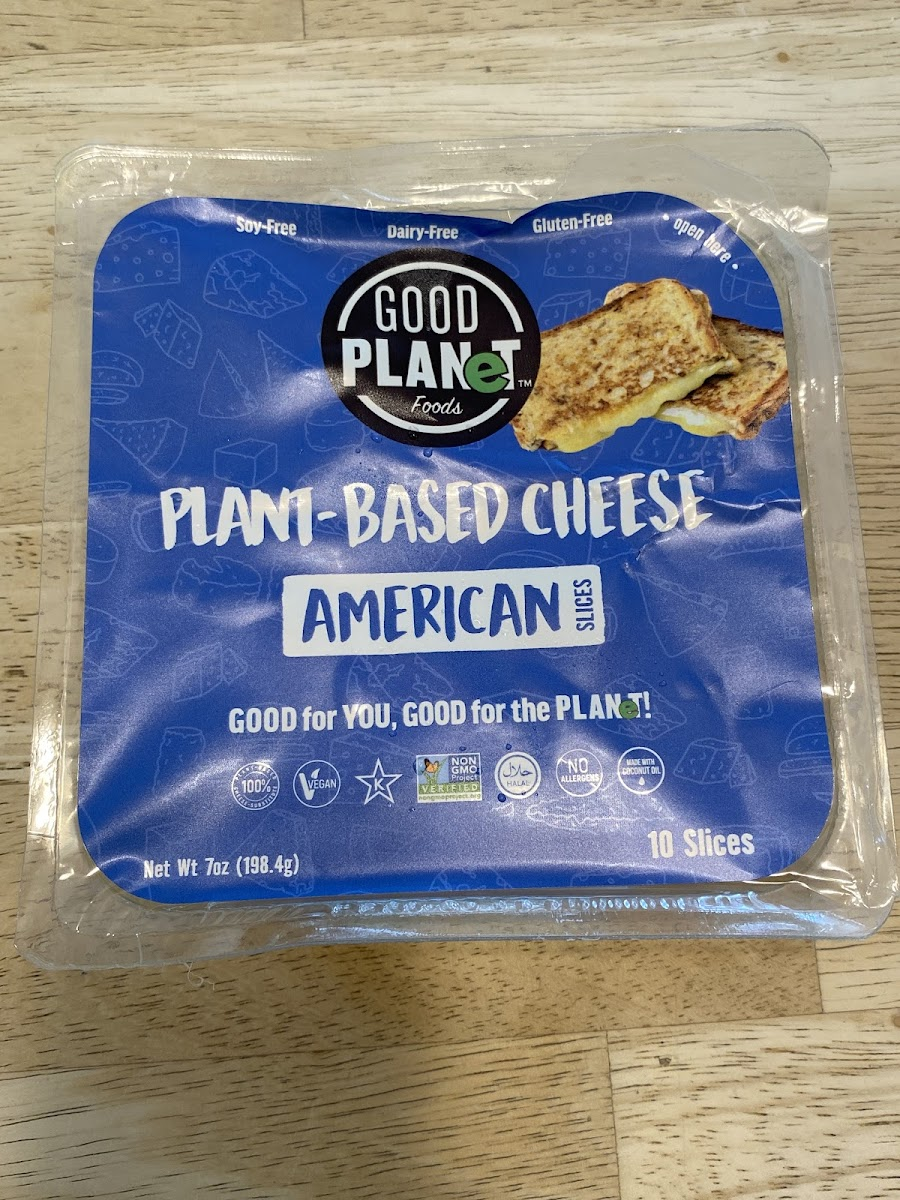 Plant Based Cheese American Slices