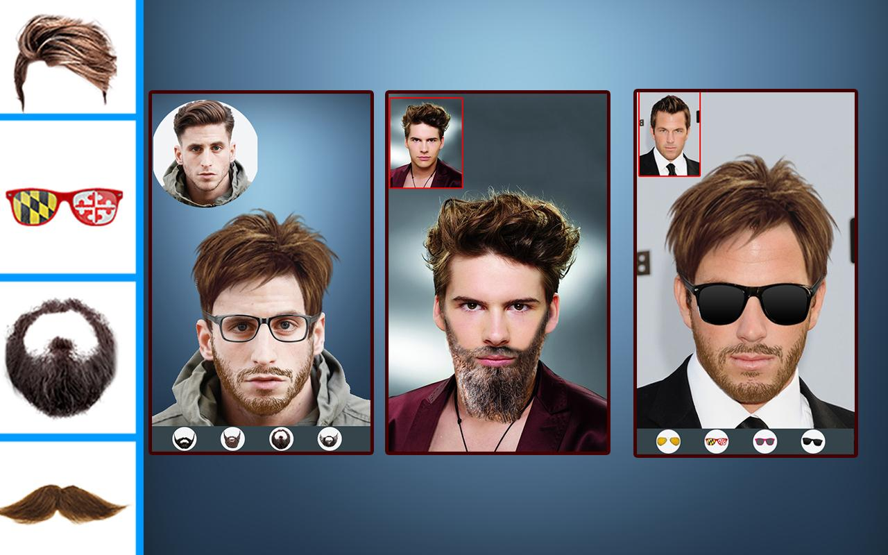 men photo editor (mustache beard hairstyle) - android apps on