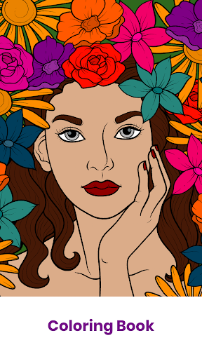 Colors - Therapy Coloring Book  screenshots 1