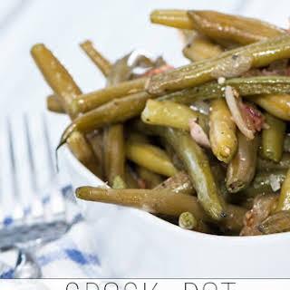 Crockpot Green Beans.